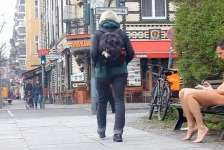 Video: Naked on the streets of Berlin