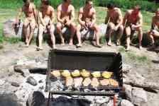 Naturist idea #24: Organize a clothing-optional BBQ