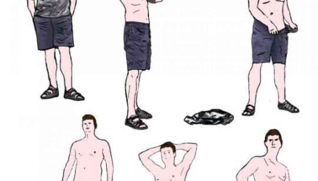 Illustrated: How to Become a Nudist