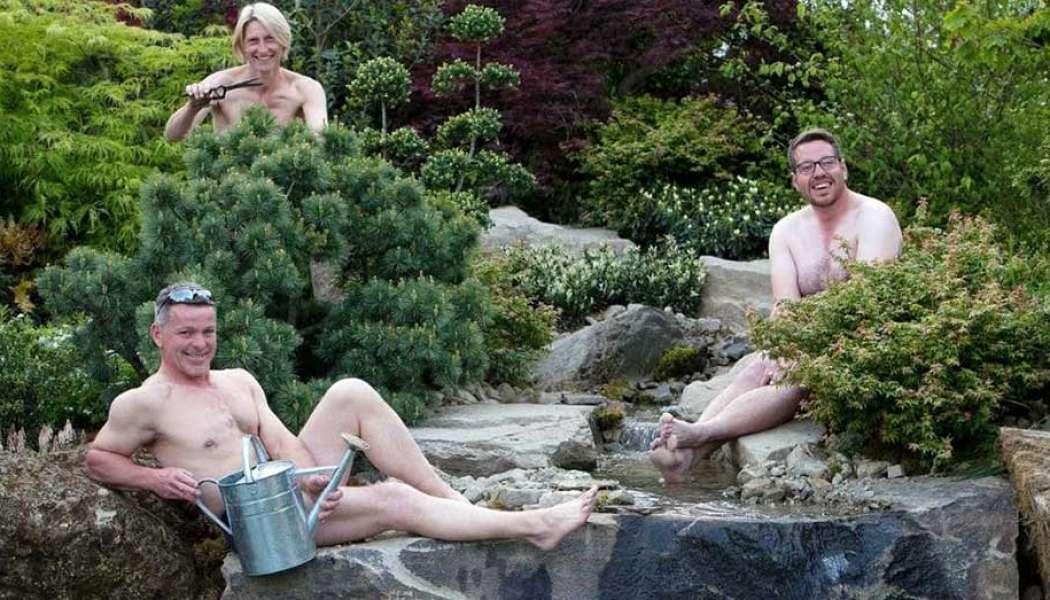 Naturist idea #18: Garden Naked