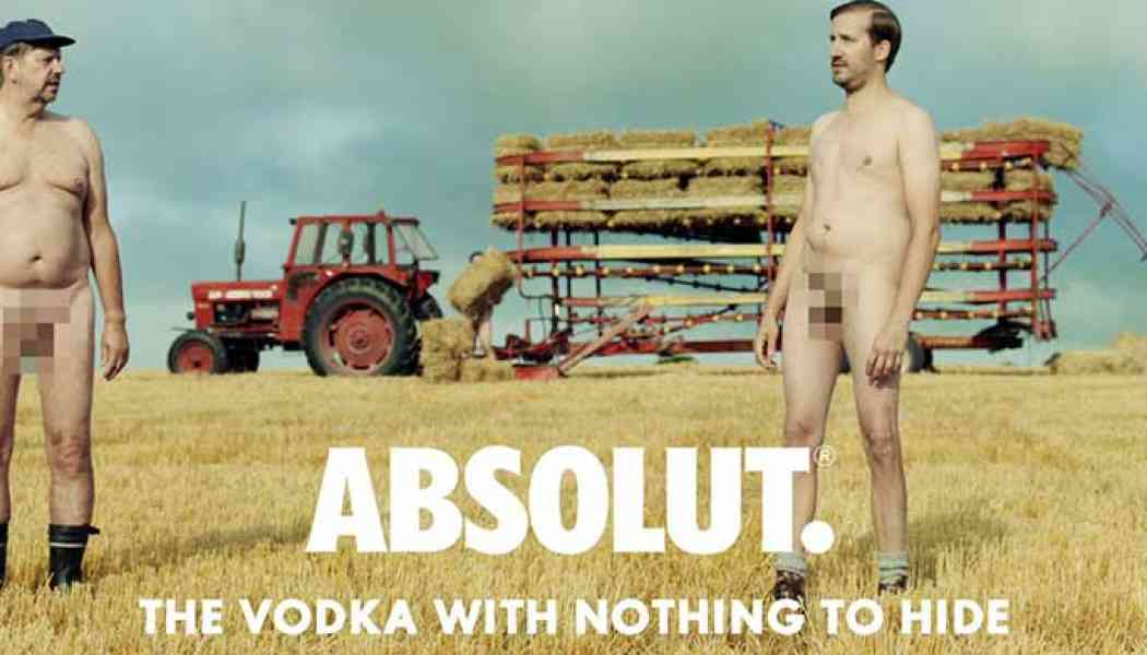 Video: Absolut Vodka has nothing to hide