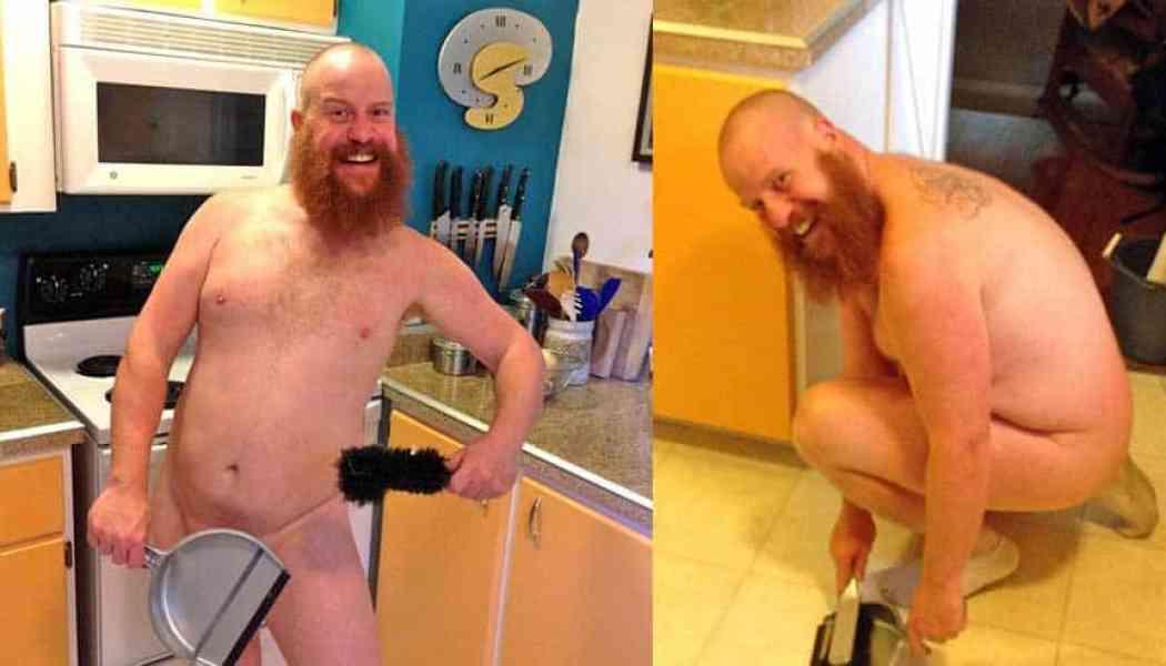 Naturist Idea #30 – Do your house chores naked